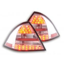 POSTERIORI LED MERCEDES CLASSE C W203 Rosso Chiaro