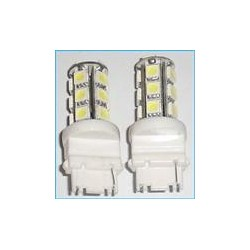 T20 W21/5W 7443 18 Smd Bianco Luci Stop 12V