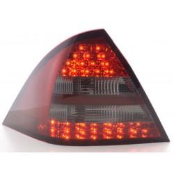 POSTERIORI LED MERCEDES CLASSE C W203 Rosso Nero