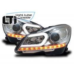 Mercedes CLASSE C W204 Light Tube Inside Cromato