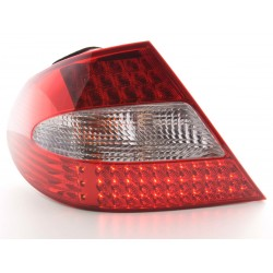 POSTERIORI LED MERCEDES CLASSE CLK W209 Rosso/Chiaro