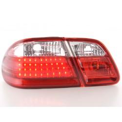 POSTERIORI LED MERCEDES CLASSE E W210 ROSSO CHIARO
