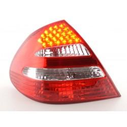 POSTERIORI LED MERCEDES CLASSE E W211 ROSSO CHIARO