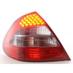 POSTERIORI LED MERCEDES CLASSE E W211 ROSSO NERO