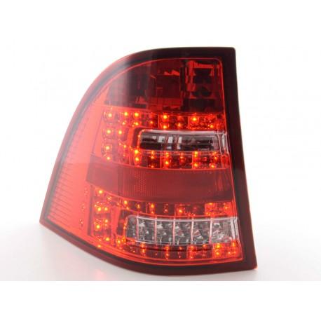 POSTERIORI LED MERCEDES CLASSE M W163 chiaro rosso