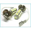 Lampada Led H3 13 SMD 5050 Luci Fendinebbia Bianco 12V