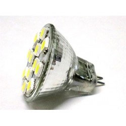 Lampada LED MR11 12 SMD 5050 2W 12V DC