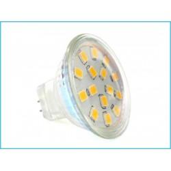 Lampada LED MR11 3W (rispetto 30w ad alogene)