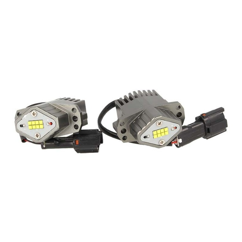 Bmw Xb: Angel Eyes BMW 80W Serie 3 E90 E91 8 Smd Cree XB-D