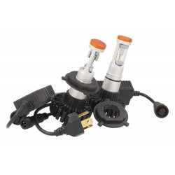 Kit Led H4 Bi-Luce 6000K 80W 12V 24V Headlight Canbus