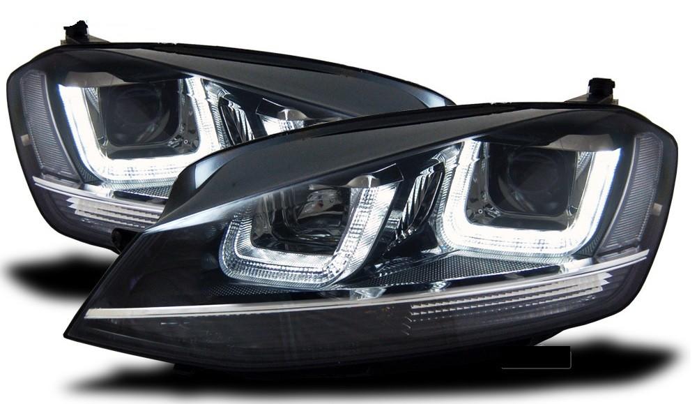 Lampadina Luci Diurne Fiat 500 : Vw golf vii fanali anteriori con luci diurne led