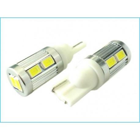 Lampada Led Canbus T10 W5W 12V 10 Smd 5730