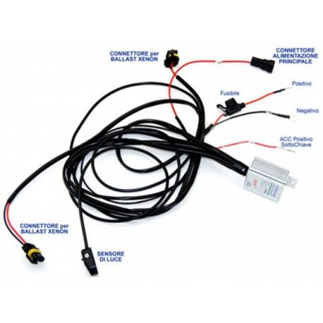 Sistema Accessione e Spegnimento Automatico LAMPADE XENON