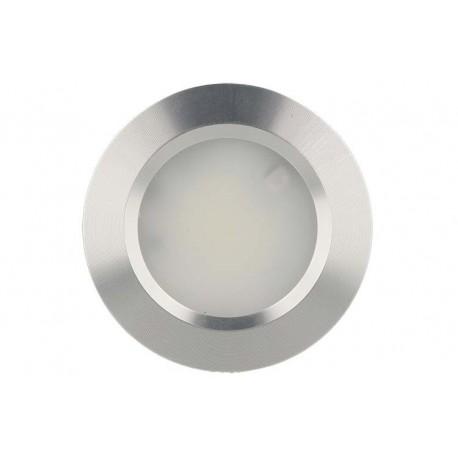 Mini Faretto Led Da Incasso 3W Alluminio Satinato