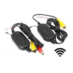 Kit Trasmettitore Ricevitore Video Wireless Per Telecamera Auto Retromarcia Monitor DVD 2,4G Cavo RCA 12V