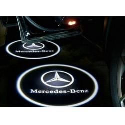 Logo portiere MERCEDES CLASSE A B GLK