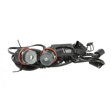 Kit Led Angel Eyes RGBW WIFI 20W Wireless Remote Control Con APP Smartphone Per BMW E83 X3 E39 E87 E53 E65 E66 E60 E61