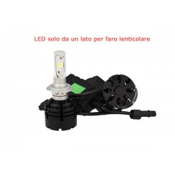 KIT FULL LED H7 40W SPECIFICO PER FARO LENTICOLARE