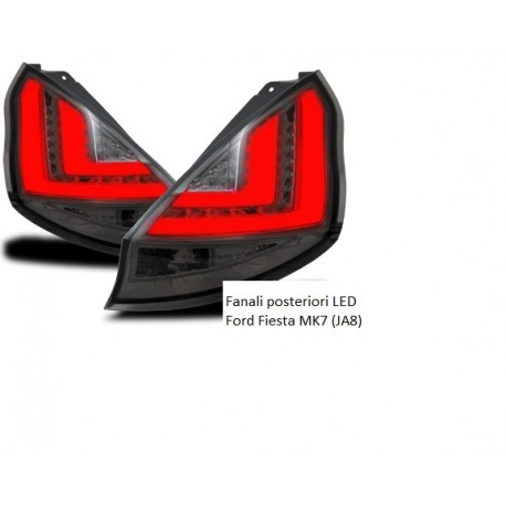 Fanali posteriori LED Ford Fiesta (MK7)