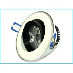 FARETTO DA INCASSO con 3 Power Led da 1W (220V)