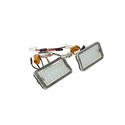 KIT LED TARGA FIAT 500 500C