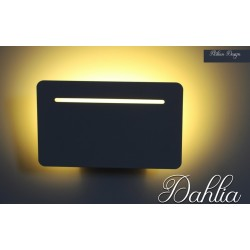 Applique Led Dahlia Italian Design bianco caldo