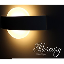 Applique Led Da Parete Modello Mercury Italian Design Moderna 6W