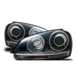 Fanali anteriori per VW GOLF 5 GTI/XENON-Look