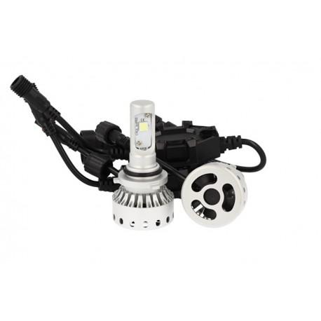 Kit Full Led Canbus HB4 9006 40W 5000 Lumens Con Ventilatore 12V 24V 2 Cree XHP 50