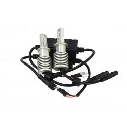 Kit Full Led H3 30W 12V 24V 6 Smd Dissipatore In Alluminio 3000 Lumens Bianco Ghiaccio