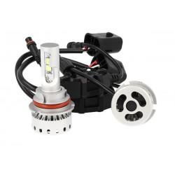 Kit Full Led Canbus HB1 9004 HB5 9007 40/40W 5000 Lumens Con Ventilatore 12V 24V 4 Cree XHP 50