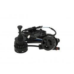 Kit Full Led D2S D2R 40W 12V 24V Con Cree XHP50 Dissipatore Ventola