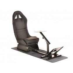 Simulatore Sediolino da corsa mod. SUZUKA Nero Black