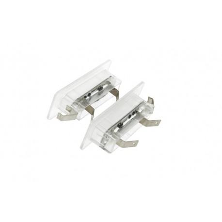 KIT LED TARGA Smart Fortwo Canbus 12V 5W Bianco