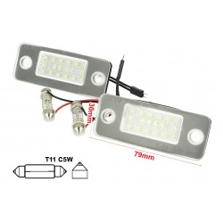 Kit LED TARGA Audi A8 D3 2002-2010 Bianco Canbus No Errore