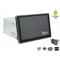 Autoradio Android 8,0 Universale GPS DVD USB SD WI-FI Bluetooth 2 DIN Navigatore Schermo Monitor Pieghevole 10,1 pollici