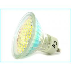 Lampada Faretto LED GU10 4W 40W 60 SMD 3528 220V Bianco Freddo
