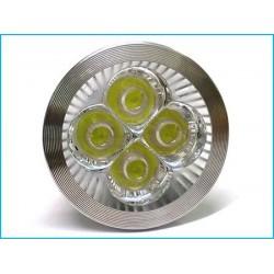 Faretto Lampada LED GU10 220V 4W Bianco Freddo