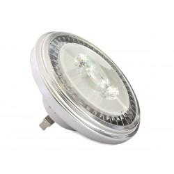Lampada Faretto Led AR111 G53 AC/DC 12V 15W Bianco Neutro Angolo 35 Gradi