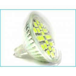 Lampada LED Dicroica MR16 GU5.3 4W 24 SMD