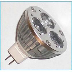 Lampada LED Dicroica MR16 GU5.3 3W (vari colori)