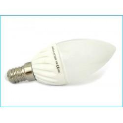 Lampada A Goccia Led E14 Candela Oliva 4W
