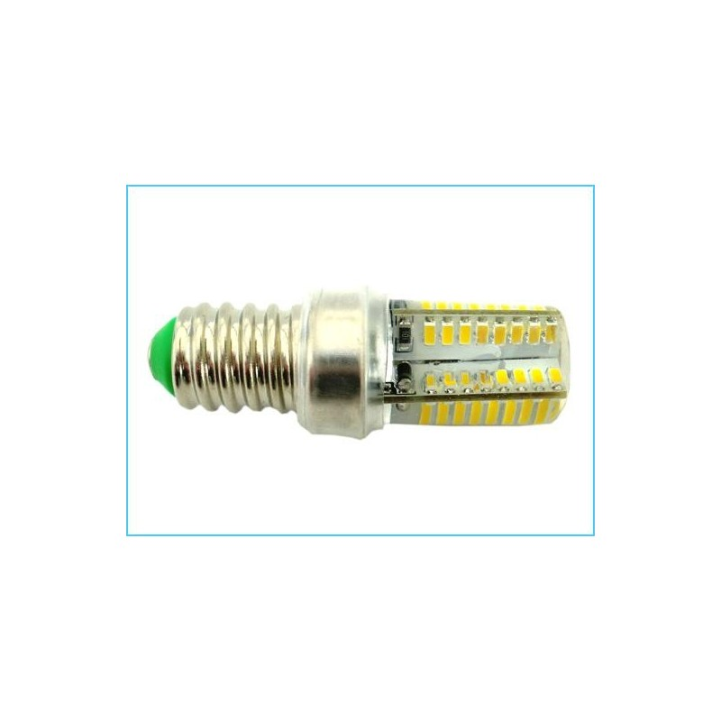 Lampada led e14 64 smd 3014 220v 3 5w for Lampade led 220v