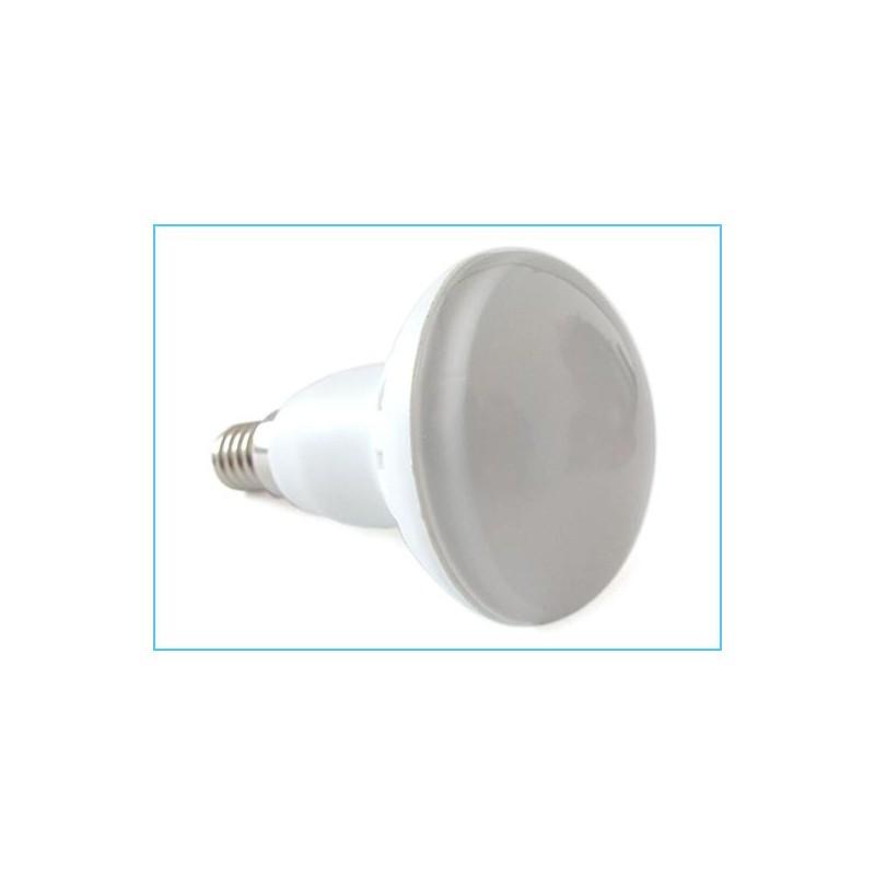 Lampada led e14 r50 par16 5w 50w 220v bianco freddo 6300k for Lampada led e14