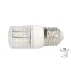 Lampada LED E27 4W 220V 27 SMD 5050 Bianco Freddo Basso Consumo