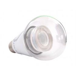 Lampada Led E27 Dimmerabile Triac Bianco Freddo 10W Bulbo Sfera Palla A60 270 Gradi 220V Con Lente
