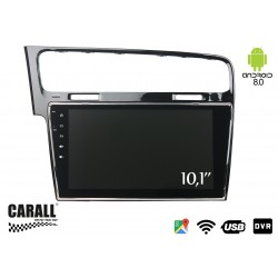 Autoradio Android 8,0 VW Golf 7 GPS DVD USB SD WI-FI Bluetooth Navigatore