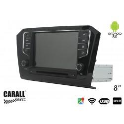 Autoradio Android 8,0 VW Passat 2015 GPS DVD USB SD WI-FI Bluetooth Navigatore