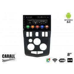 Autoradio Android 8,0 Dacia Logan L90 GPS DVD USB SD WI-FI Bluetooth Navigatore