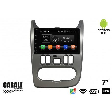 Autoradio Android 8,0 Dacia Sandero GPS DVD USB SD WI-FI Bluetooth Navigatore